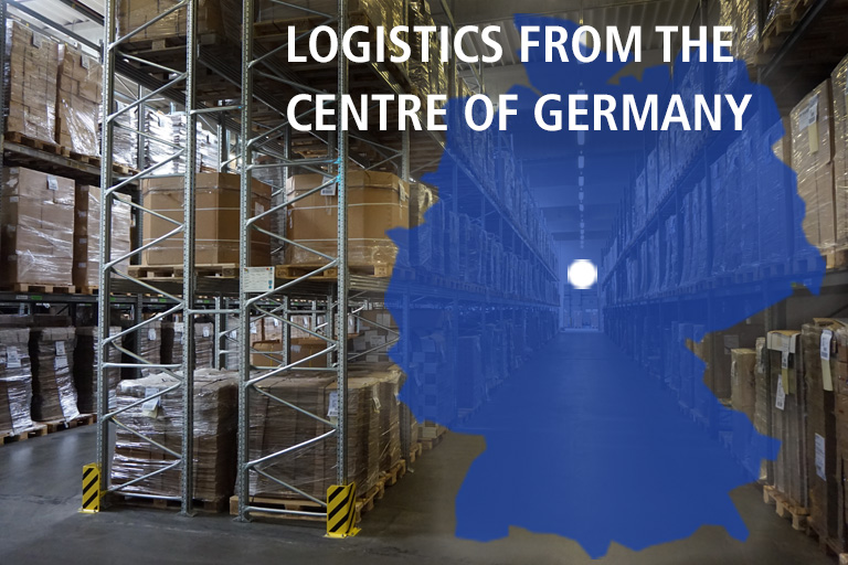 LOGISTICS FROM THE CENTRE OF GERMANY