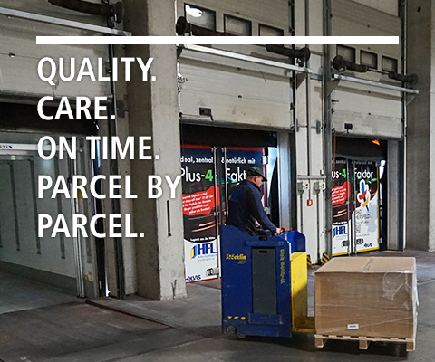 QUALITY. CARE. ON TIME. PARCEL BY PARCEL.